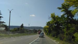 Едем из Симферополя в Севастополь