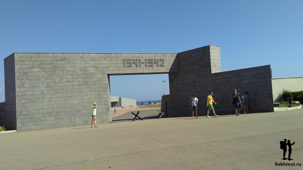 Севастополь. Мемориал 35-ой батареи