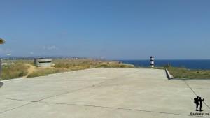 Севастополь. 35-ый форт и море