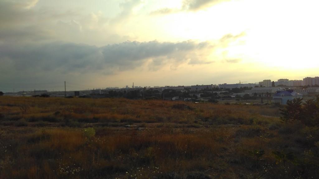 Утром Севастополь расстроился