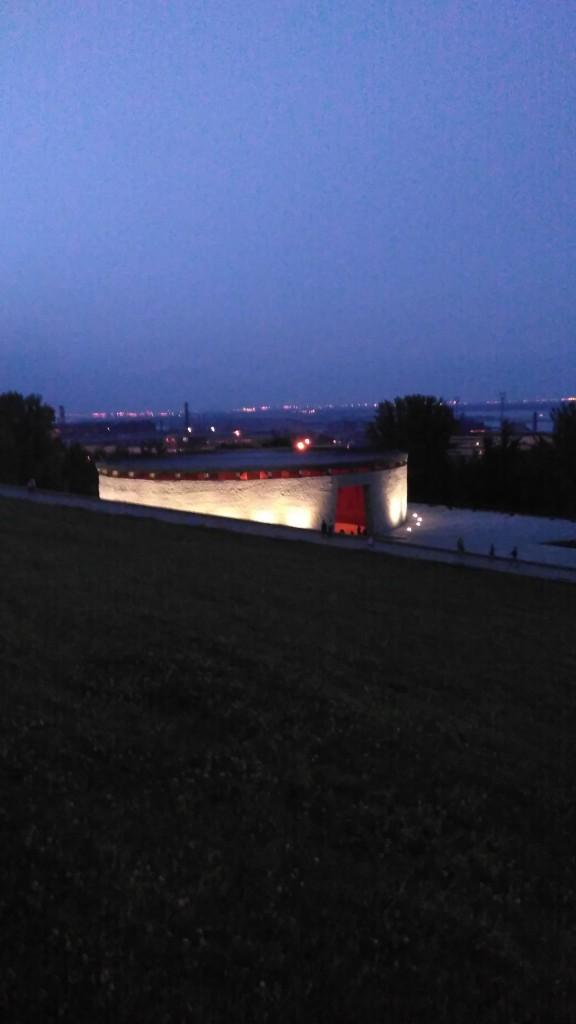 Вид на Зал Воинской Славы и Сталинград