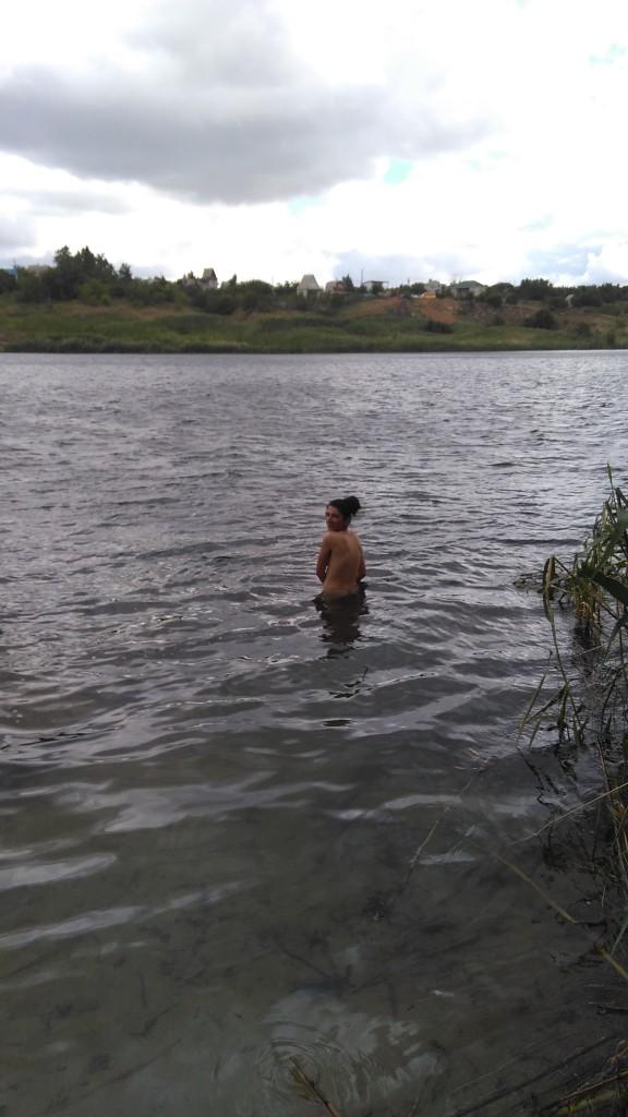 Ерзовка, купание