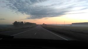 Утро и мы едем в сторону Казани
