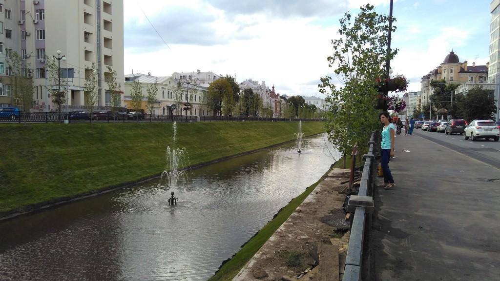 Канал, Казань