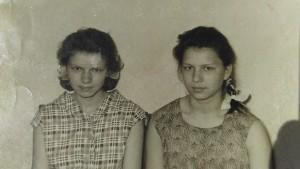 Тамара(моя мама) и тётя Валя(справа)
