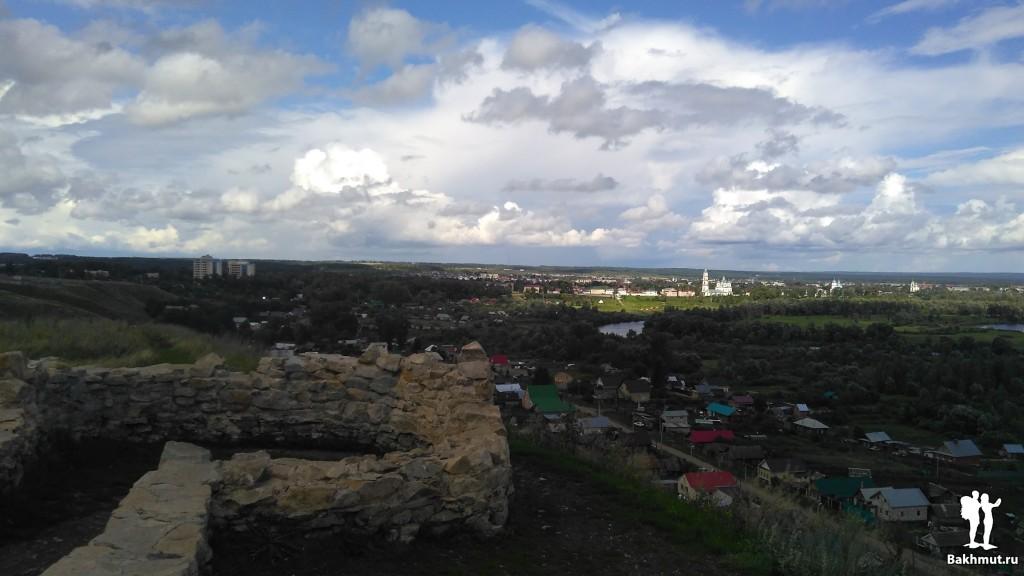 Остовы городища в Елабуге