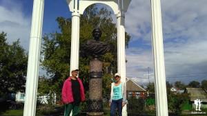 Памятник Марине Цветаевой в Елабуге