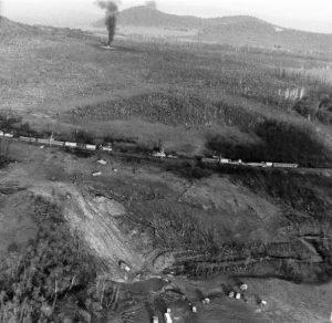 Эпицентр взрыва в долине