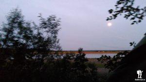 Вид из палатки на Бирюсу
